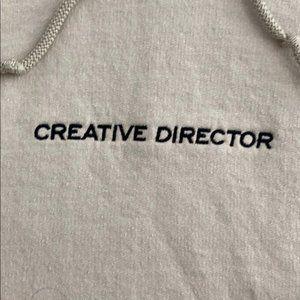 Ripple Junction Shirts - Ripple Creative Beige Cream Taupe Director Hoodie